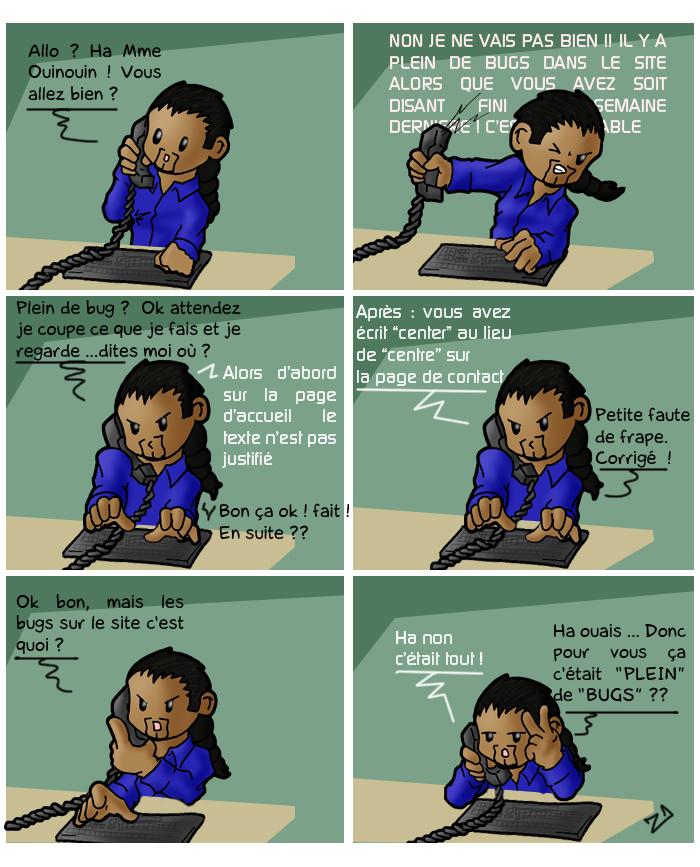 Zandoli-blog BD BLOG step 51 : les clients comptent en Troll